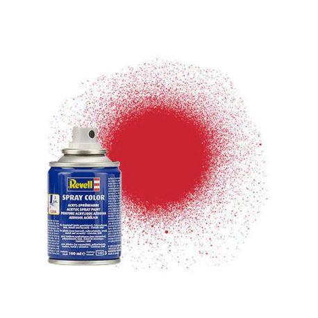 Peinture aérosol rouge vif satiné n°330 (100ml)