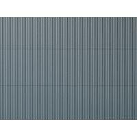 Pplaque de toit en tôle ondulée grise