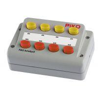 Module de 8 boutons poussoirs (4 rouges + 4 jaunes)