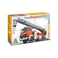 Camion IVECO grande échelle pompiers