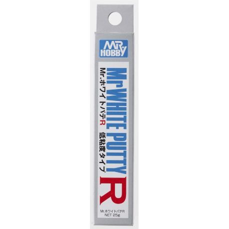 Mastic faible viscosité MR. WHITE PUTTY R