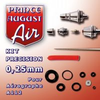 Kit précision de 0,25mm pour Aérographe A112