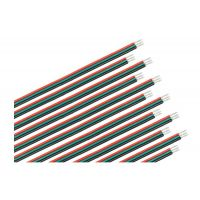 12 connecteurs 3 fils (noir, vert, rouge) 150 mm