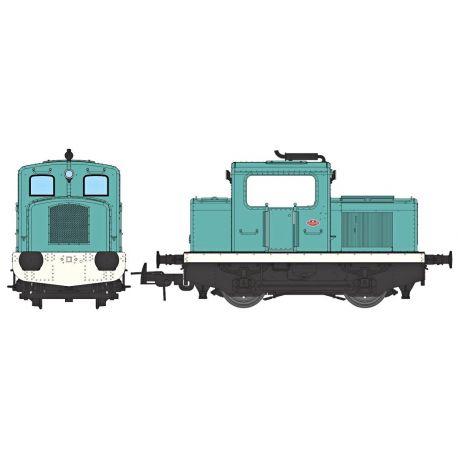 Loco tracteur MOYSE 32 TDE (industriel bleu)