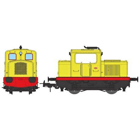 Loco tracteur MOYSE 32 TDE (industriel jaune)