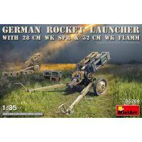 Lance roquettes allemands 28 et 32 cm