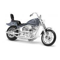Moto américaine grise