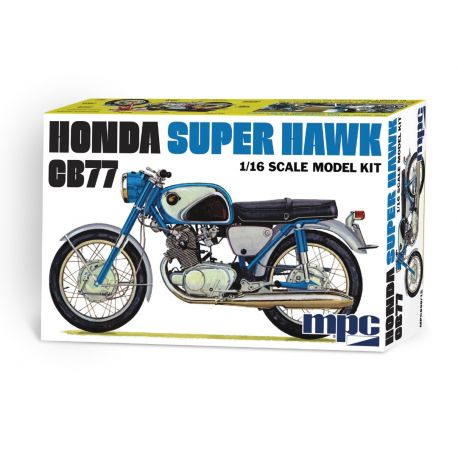 Moto HONDA Super Hawk CB77