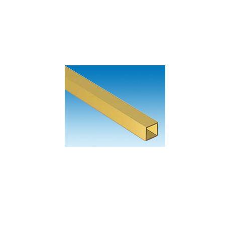 Profilé laiton carré 2mm (50cm)