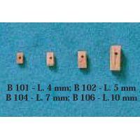 Poulie simple buis 5 mm