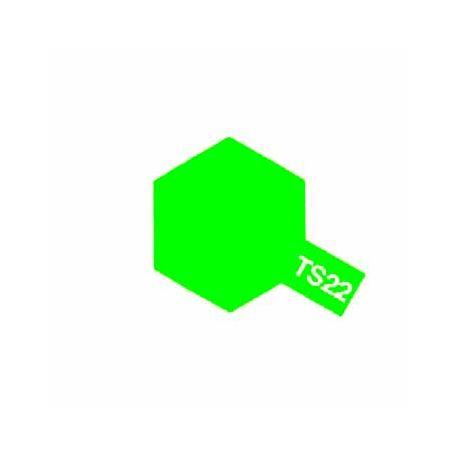 Peinture AEROSOL vert clair brillant TS-22 (100ML)