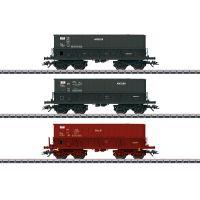 """3 wagons trémies minéraliers """"SOLLAC-ARCELOR"""""""