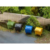 Set de bennes à ordures