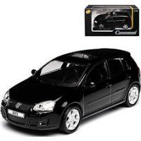 Voiture VW GOLF GTI noire