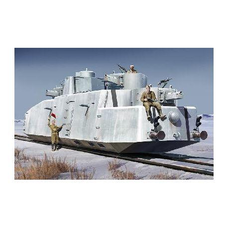 Draisine blindée soviétique MBV-2 (canon KT-28)