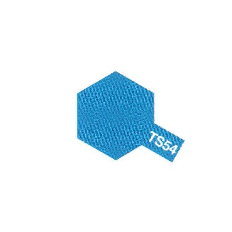Peinure aérosol bleu métalique clair TS-54 (100ml)