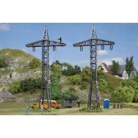 2 pylônes haute tension