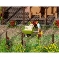 Brouette de jardinier