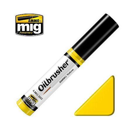 Peinture Oilbrusher jaune (10ml)