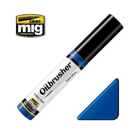 Peinture Oilbrusher bleu foncé (10ml)