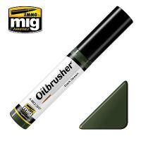 Peinture Oilbrusher vert foncé (10ml)