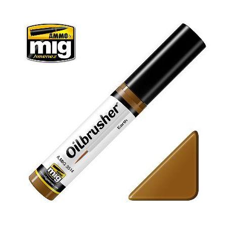 Peinture Oilbrusher terre (10ml)
