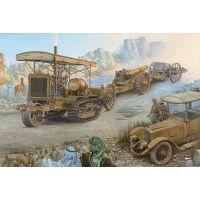 Obusier BL 8 pouces Mk. VI avec tracteur Holt 75