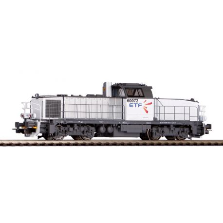 Locomotive diesel BB60072 ETF