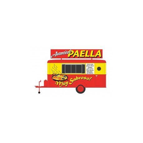 Caravane vente ambulante PAELLA