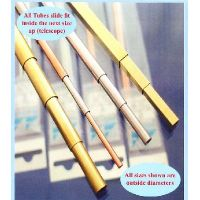 4 TUBES ALUMINIUM D: 3 MM (L:305MM)