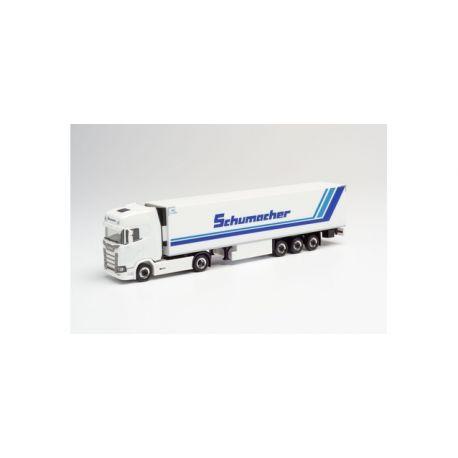 """Camion SCANIA CS SZ semi-remorque frigo """"SCHUMACHER"""""""