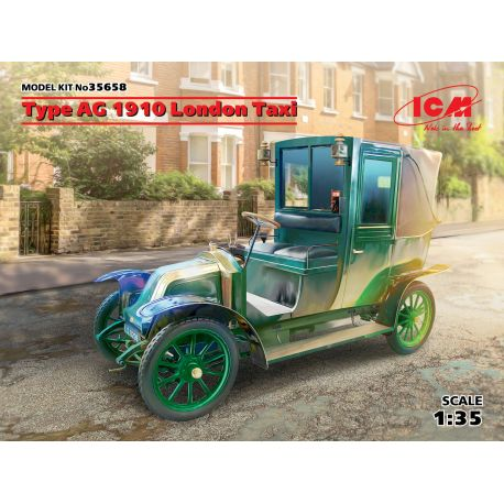 Taxi londonien AG 1910