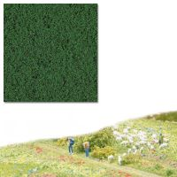 Flocage micro mousse vert foncé