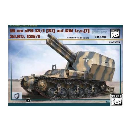 Canon automoteur 150 mm Sd.Kfz. 135/1 version GW