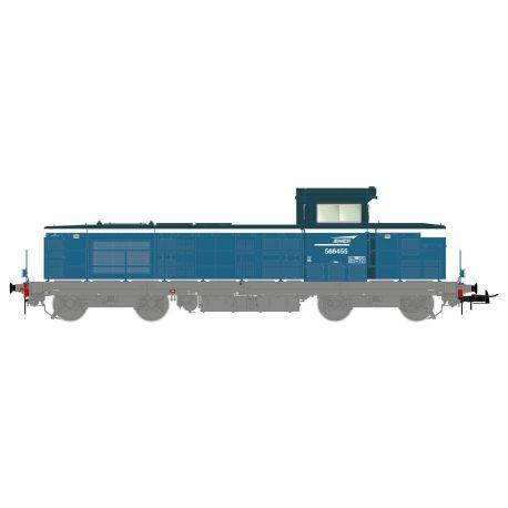 Locomotive diesel BB566455 SNCF digitale son