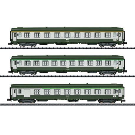 "Coffret 3 voitures ""Orient Express"" SNCF"