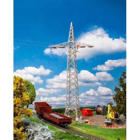 2 Pylônes électriques réseau traction