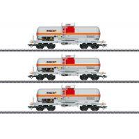 "3 wagons citernes ""MILLET"""