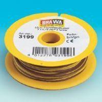 2 fils électriques 0,14mm2 (1 jaune et 1 brun en 10m)